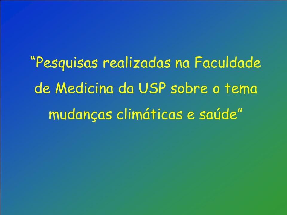 Percentual de óbitos atribuíveis (risco atribuível e IC 95%) a temperaturas acima ou abaixo de 20º, São Paulo, 1991-1994 Efeito do aumento de 1ºC acima de 20ºC Efeito da diminuição de Efeito da diminuição de 1ºC abaixo de 20ºC