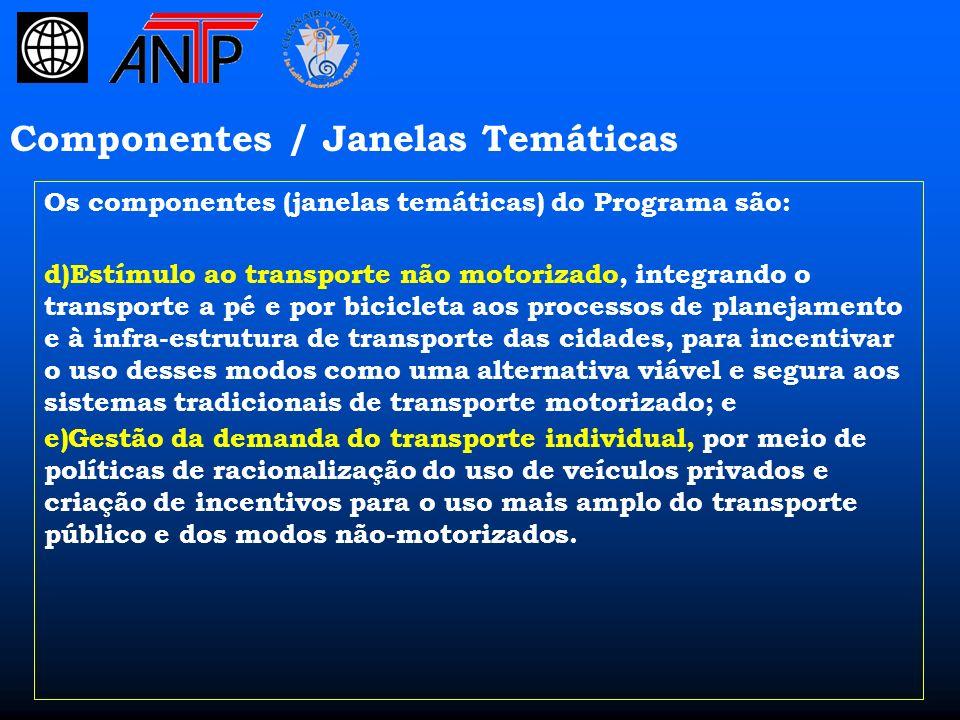 Projeto GEF / STAQ no Brasil A ANTP é a Agência Executora Nacional do Projeto GEF / STAQ no Brasil.
