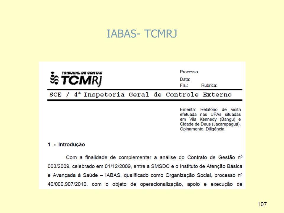 IABAS- TCMRJ 107