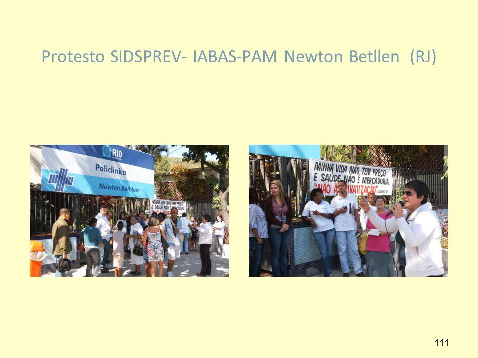 Protesto SIDSPREV- IABAS-PAM Newton Betllen (RJ) 111