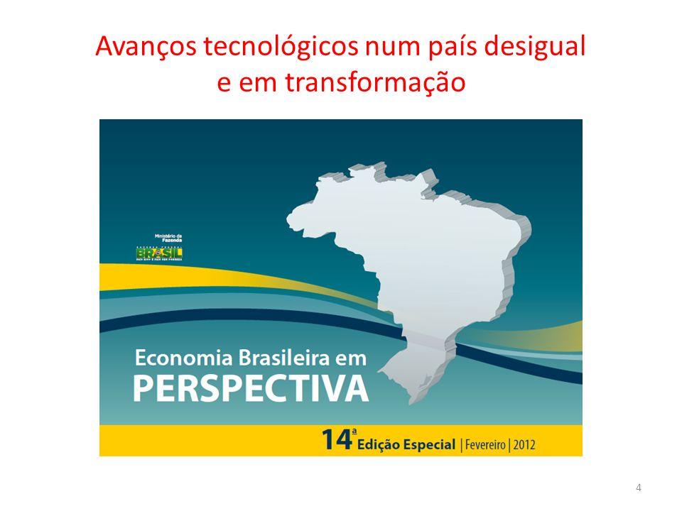Avanços tecnológicos num país desigual e em transformação 4