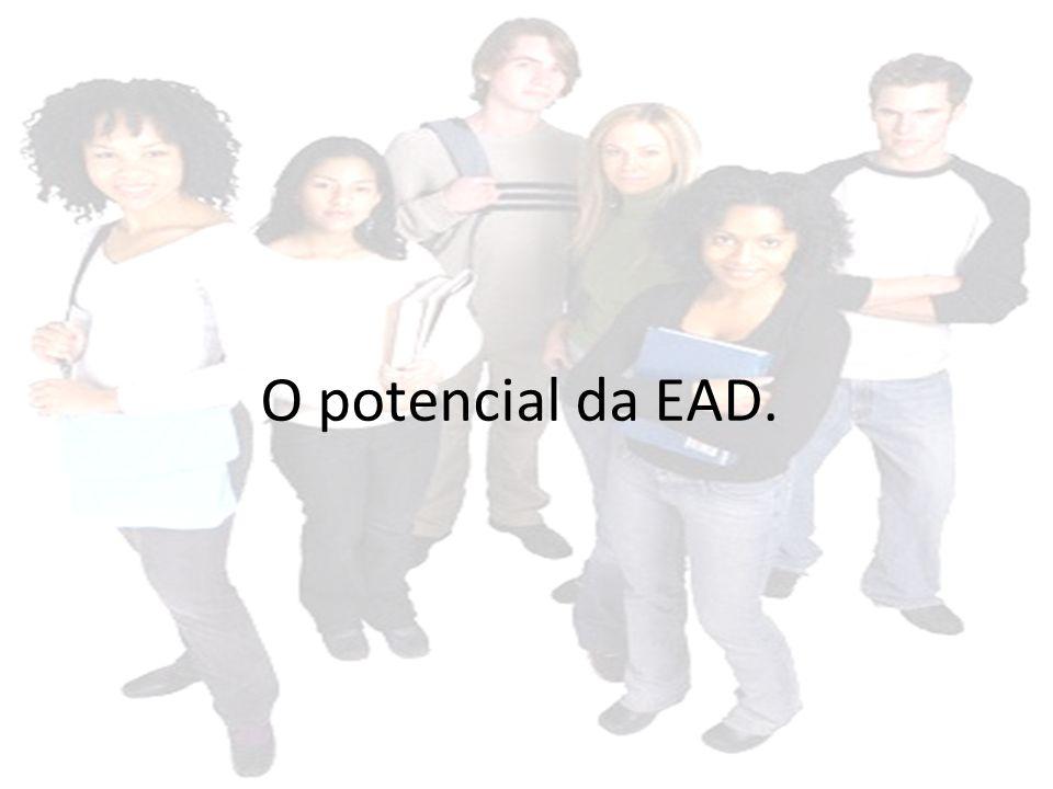 O potencial da EAD.