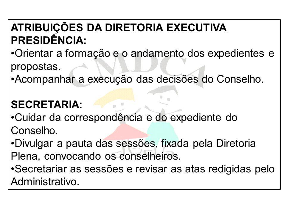 COMISSÃO PERMANENTE DE GARANTIA DE DIREITOS E CONSELHOS TUTELARES CPGDCT