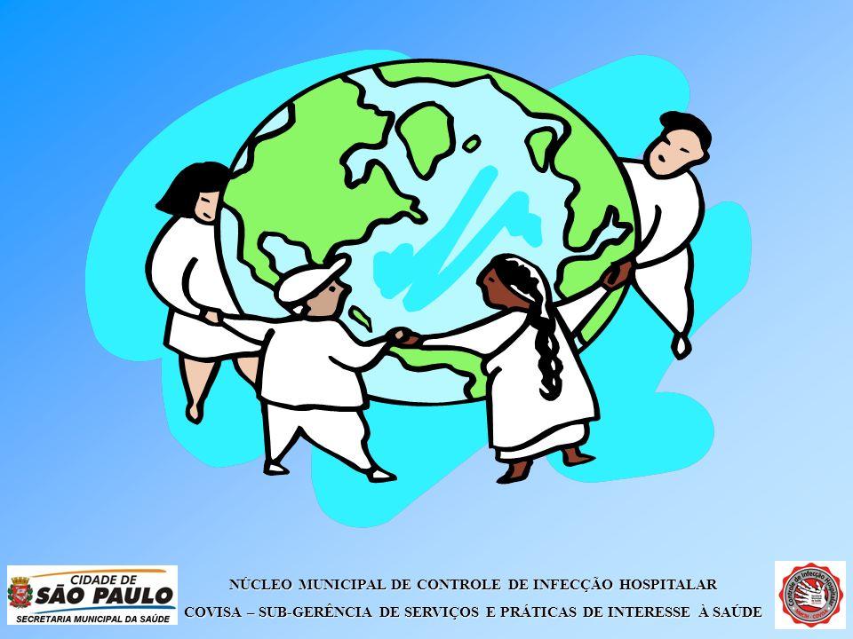 NÚCLEO MUNICIPAL DE CONTROLE DE INFECÇÃO HOSPITALAR COVISA – SUB-GERÊNCIA DE SERVIÇOS E PRÁTICAS DE INTERESSE À SAÚDE