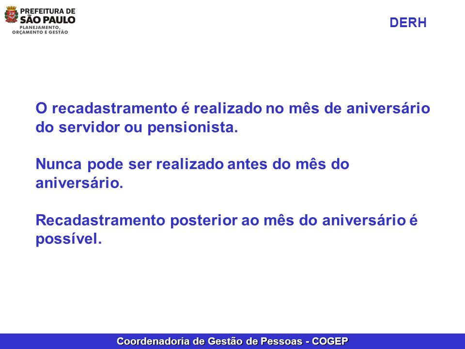 Coordenadoria de Gestão de Pessoas - COGEP Em Grupo de relatórios: - Escolher o item 01 – Histórico Funcional.