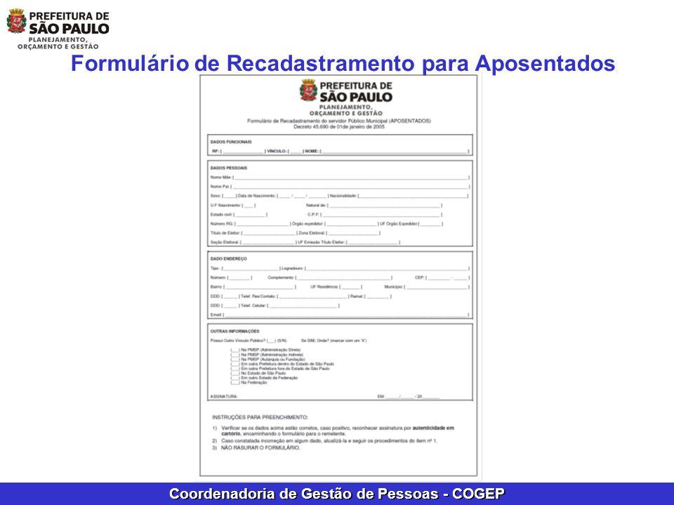 Coordenadoria de Gestão de Pessoas - COGEP PROCEDIMENTOS DE APURAÇÃO DE DÉBITOS CONFORME LEGISLAÇÃO VIGENTE APURAR VALORES PERCEBIDOS INDEVIDAMENTE APÓS O FALECIMENTO DO SERVIDOR AUTUAR PROCESSO ADMINISTRATIVO ( OBSERVAR VALOR) SOLICITAR ATRAVÉS DE MEMORANDO O ESTORNO DOS PROVENTOS COM A CERTIDÃO DE ÓBITO (AUTENTICADA) PARA O DERH-21; E ENCAMINHAR TAMBÉM POR E-MAIL O MEMORANDO DE ESTORNO; semplacogepderh2@prefeitura.sp.gov.br