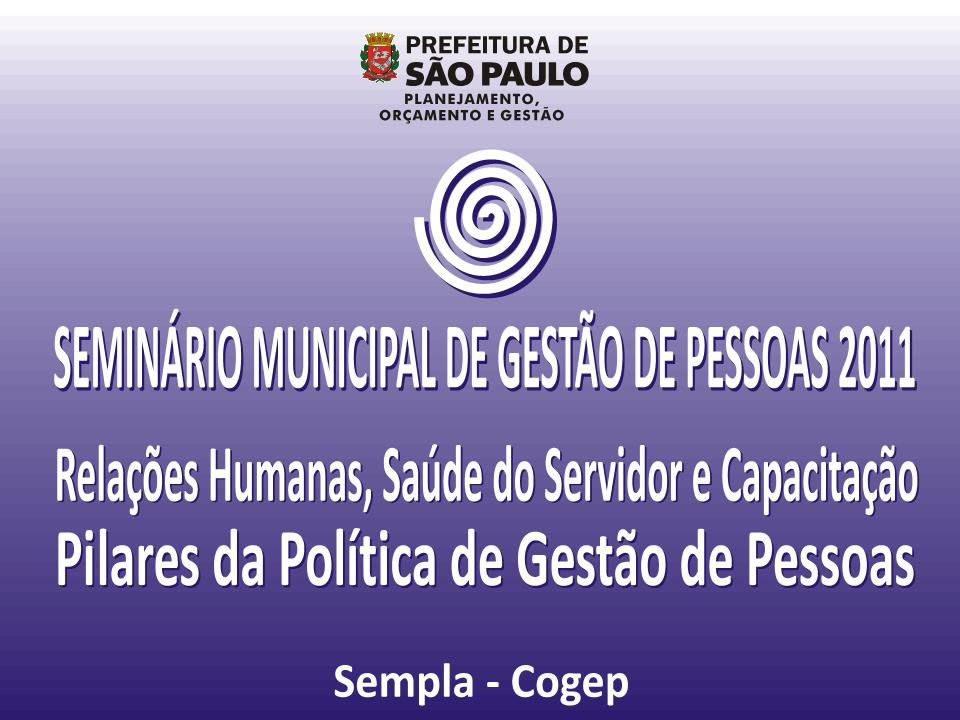 RECADASTRAMENTO PREFEITURA DO MUNICÍPIO DE SÃO PAULO
