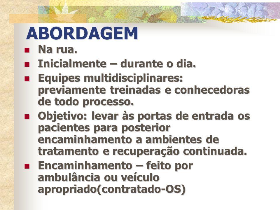 PORTAS DE ENTRADA Duas Portas – para garantir adequada recepção e encaminhamento: CRATOD e CAPS AD Centro.
