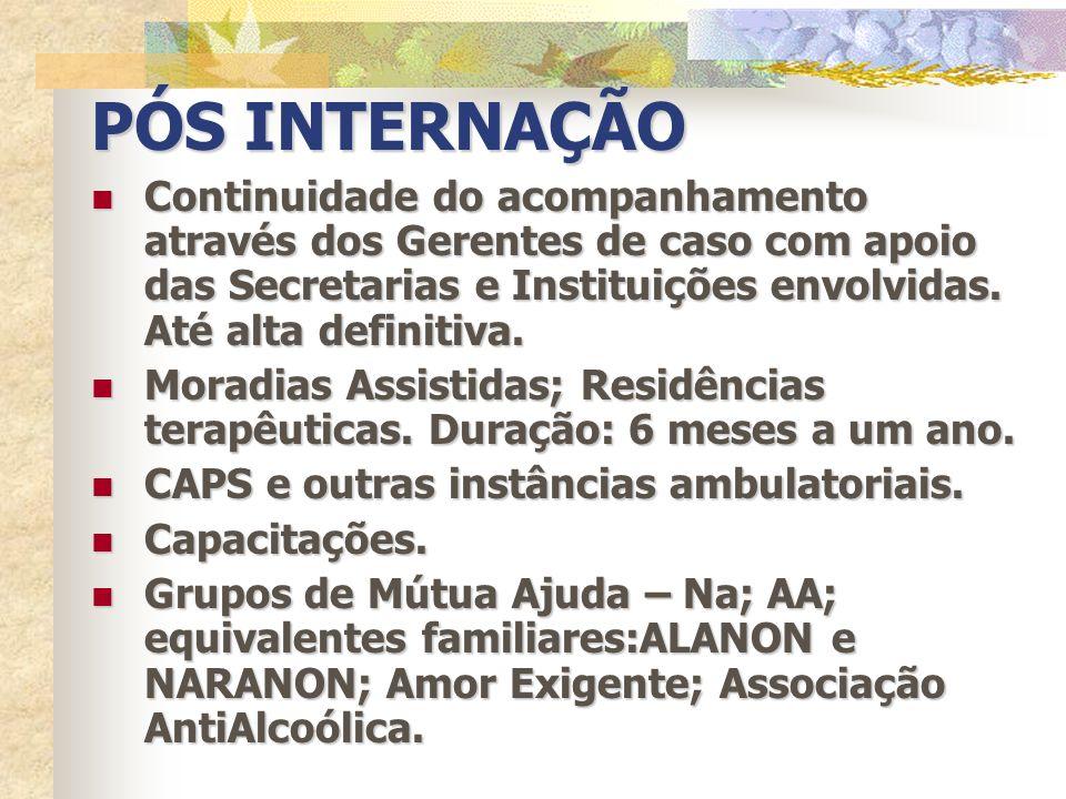 REINSERÇÃO SOCIAL Estudo – regular e profissionalizante.