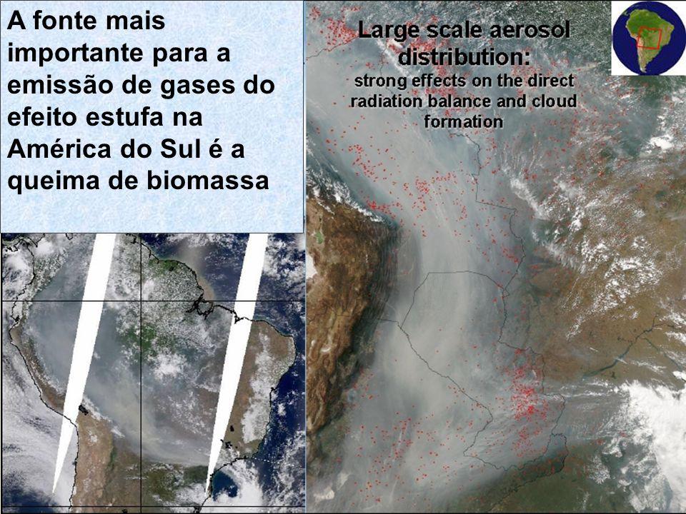 Poluentes emitidos/formados em áreas urbanas com impacto global Aerossol Atmosférico Sulfatos Black Carbon Ozônio COV NO x O3O3
