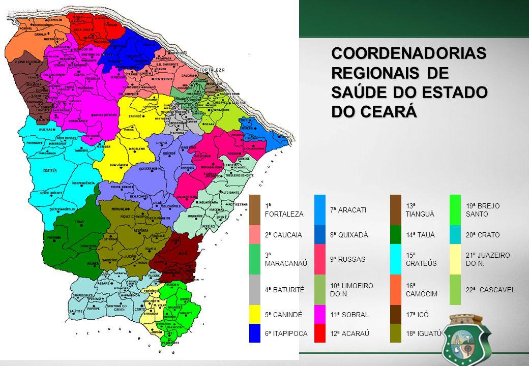 MACRORREGIÕES DE SAÚDE DO ESTADO DO CEARÁ
