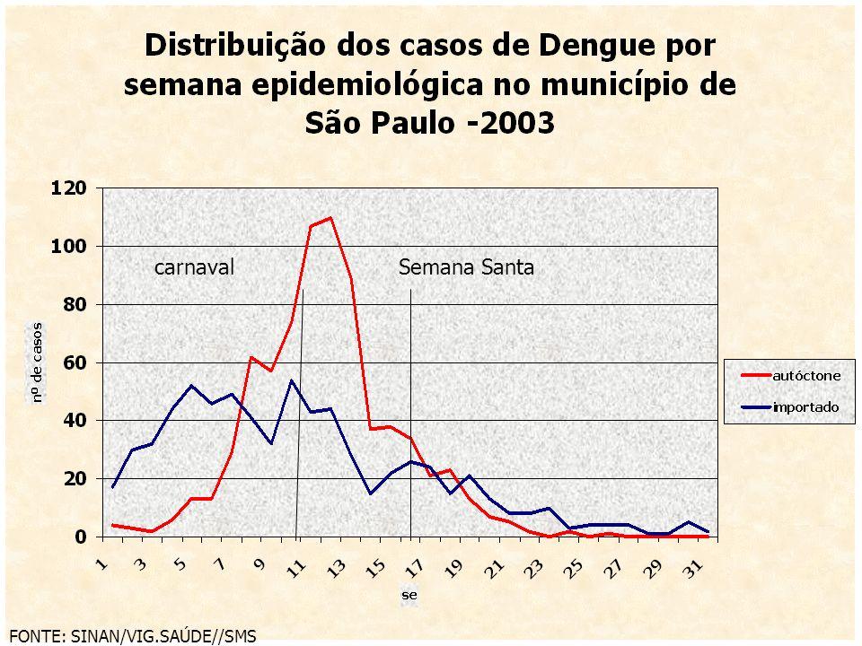 carnavalSemana Santa FONTE: SINAN/VIG.SAÚDE//SMS