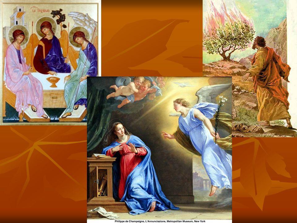 Visões no cristianismo São diversos encontros do ser humano mortal com o mistério infinito e eterno.