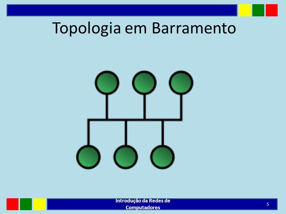 Topologia em Barramento Introdução da Redes de Computadores 5