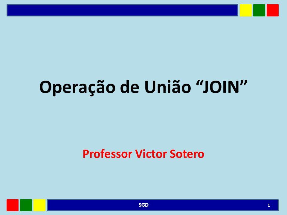 JOIN O join é uma operação de multi-tabelas Select: o nome da coluna deve ser precedido pelo nome da tabela, se mais de uma coluna na tabela especificada na cláusula from tiver o mesmo nome.