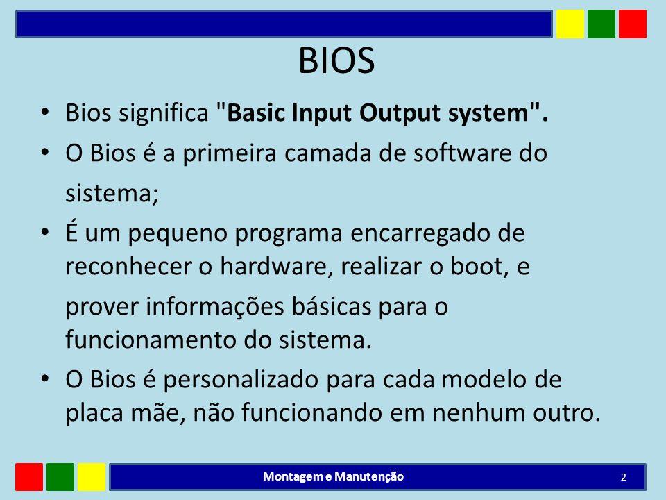 BIOS Bios significa