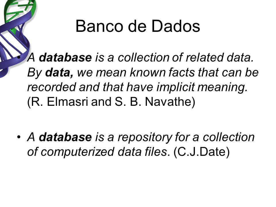 Abordagem utilizando Sistema de Arquivos Cada usuário define e implementa os arquivos necessários para uma aplicação específica.