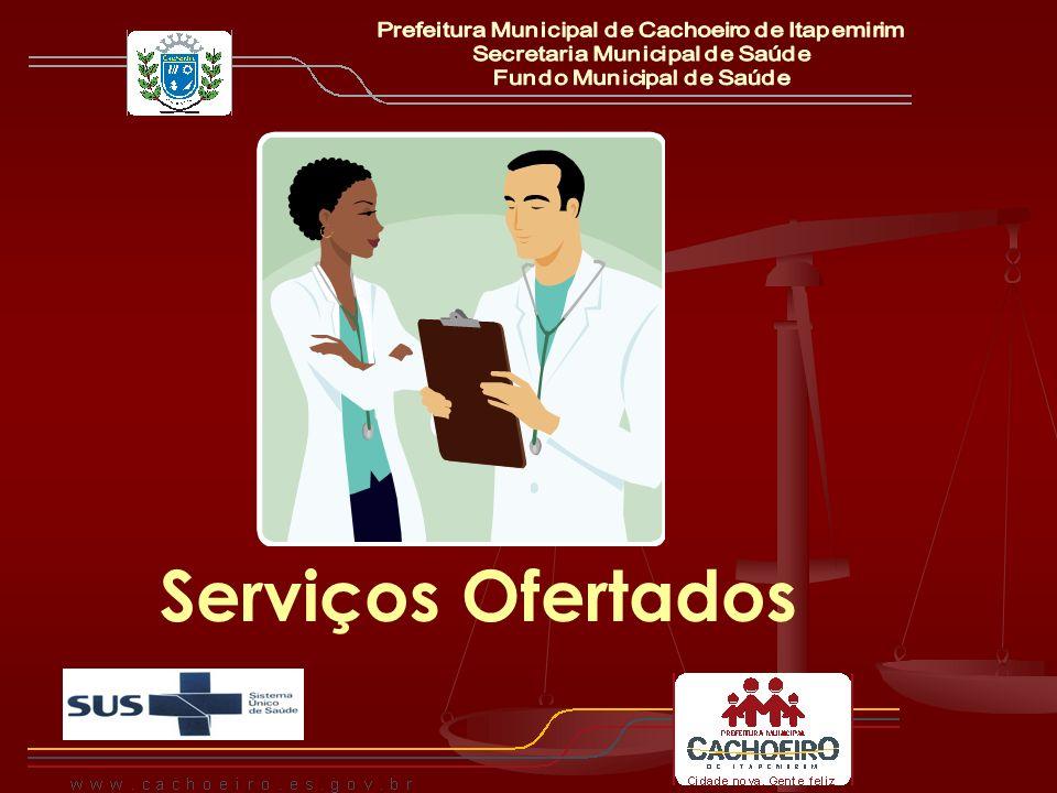 Serviços Ofertados