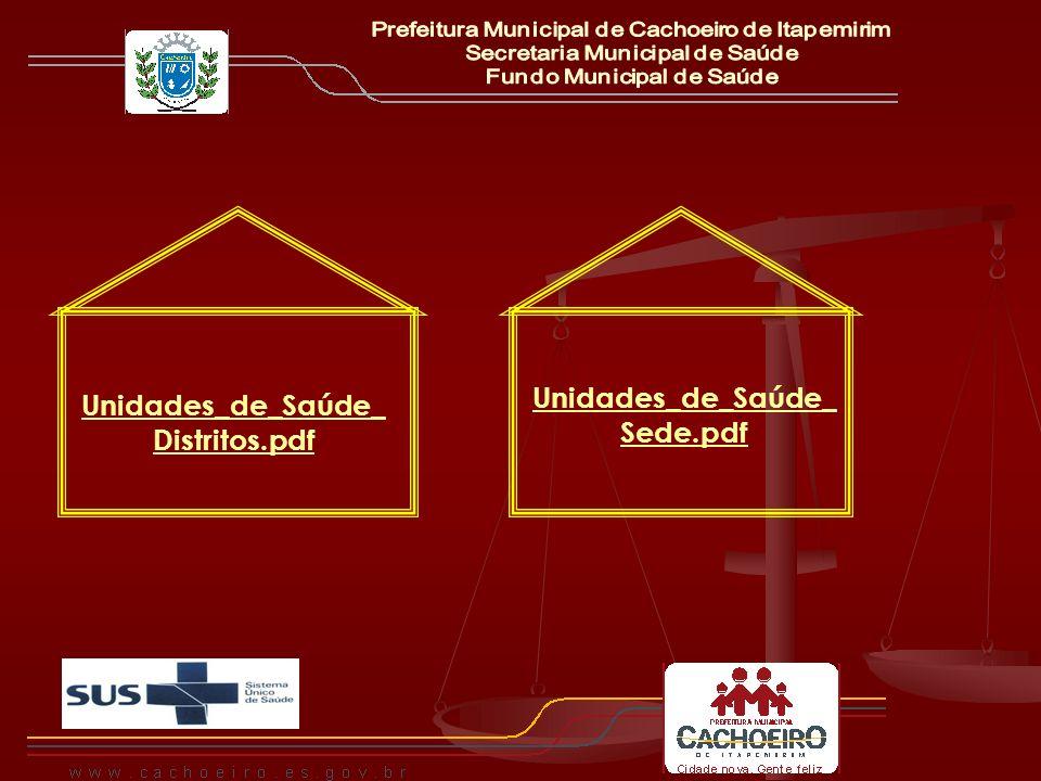 Rede Básica de SaúdeUNIDADESENDEREÇOLOGRADOUROBAIRRO Agostinho Simonato R.