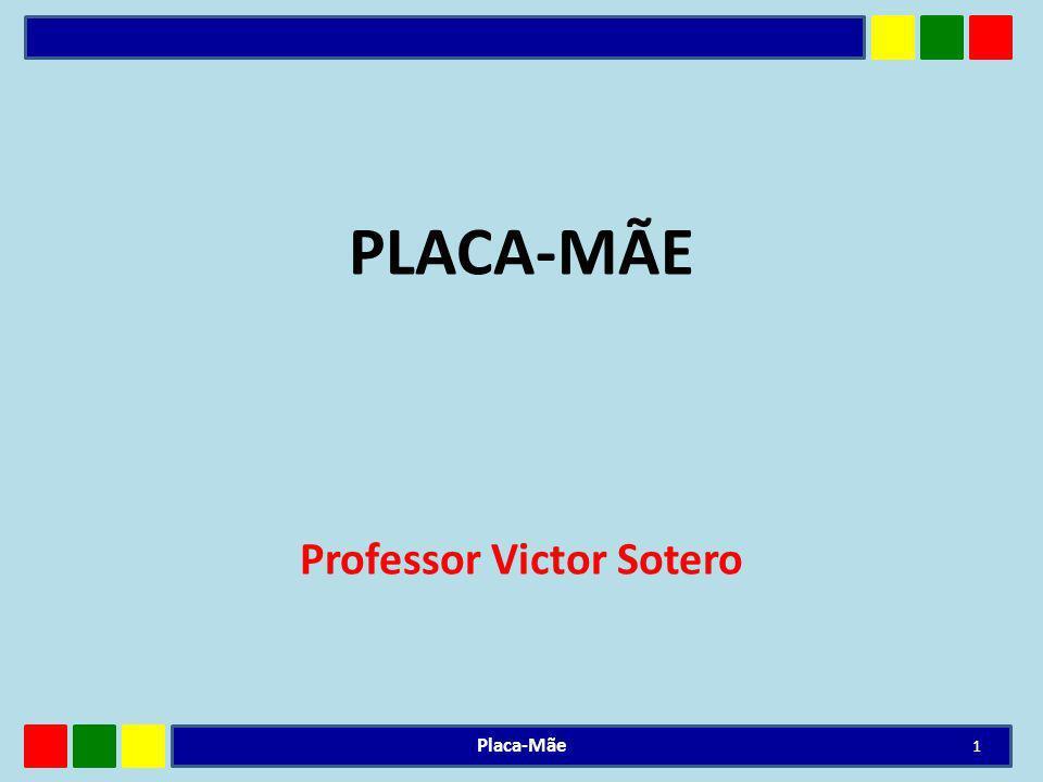 A placa-mãe é o componente mais importante do micro, pois é ela a responsável pela comunicação entre todos os componentes.