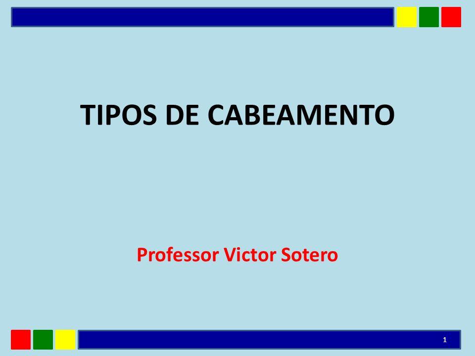 TIPOS DE CABEAMENTO Professor Victor Sotero 1