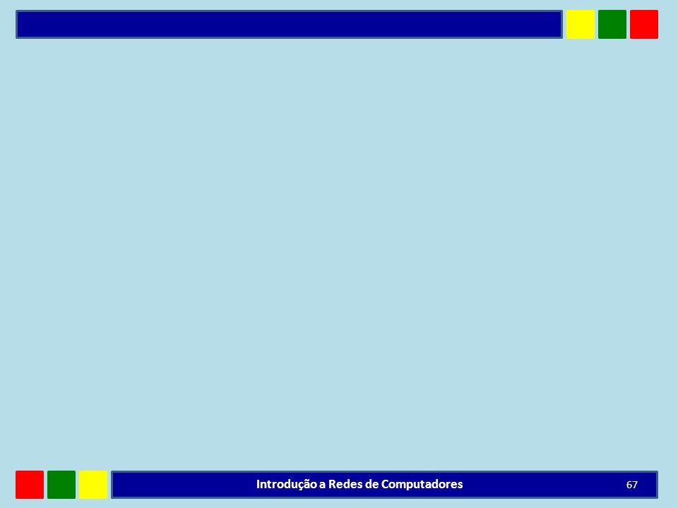 Introdução a Redes de Computadores 67