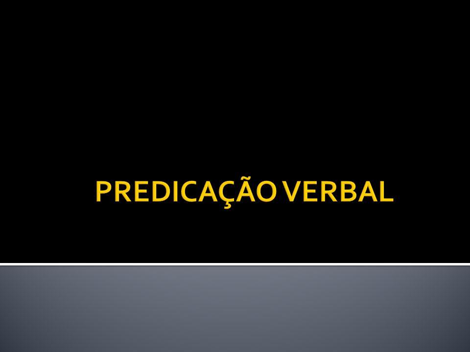 Formado por um verbo de ligação que liga um nome (Predicativo do sujeito) ao sujeito.