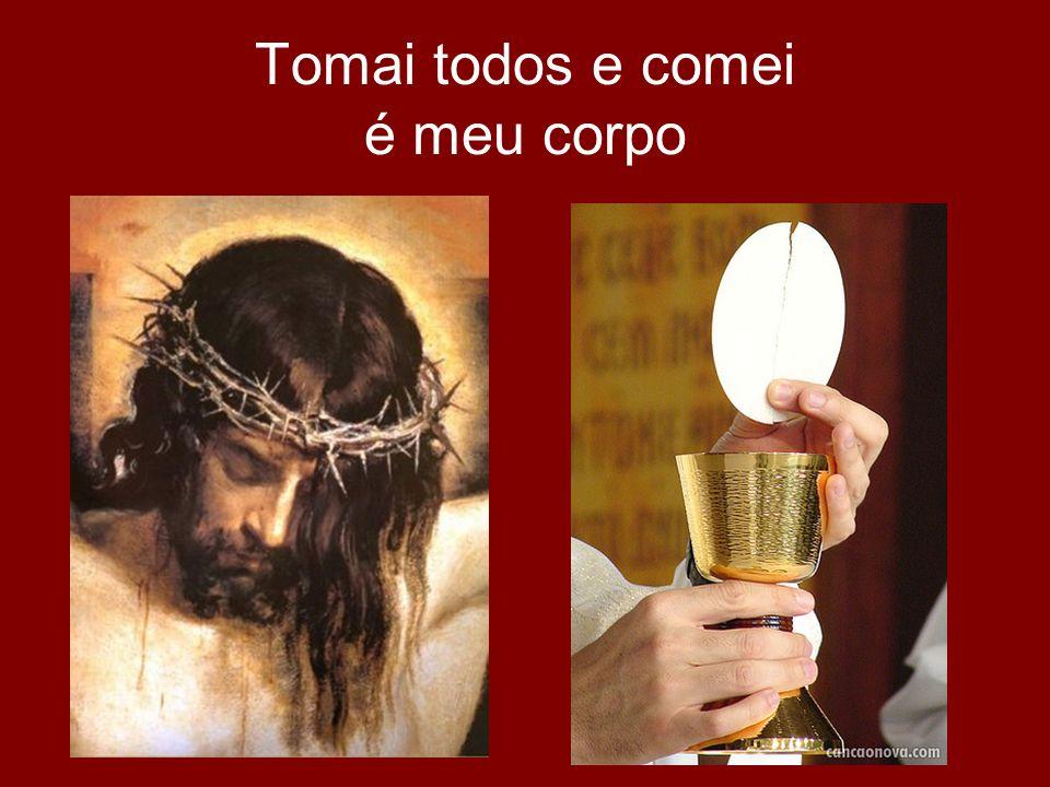 Oração Eucarística Invocação do Espírito Santo Narração das Palavras de Jesus na Ceia: Consagração do pão e do vinho Mistério da fé!
