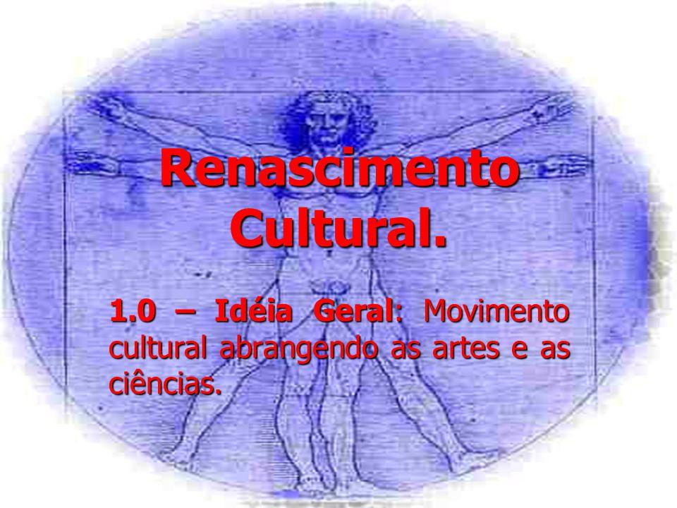 Renascimento Cultural.2.0 – Origens: 2.1 – Itália.