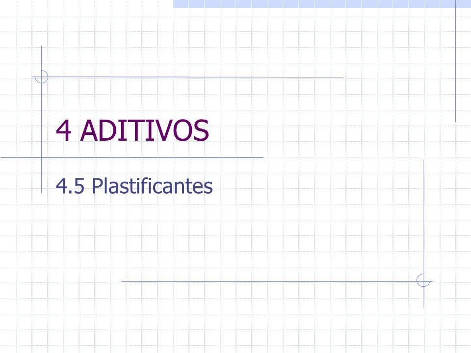 4 ADITIVOS 4.5 Plastificantes