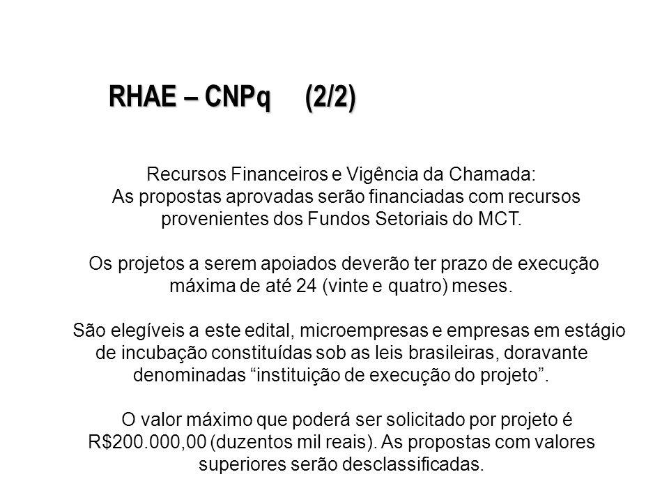 Objetivo: selecionar propostas empresariais para subvenção econômica à P&D de processos e produtos inovadores no país.