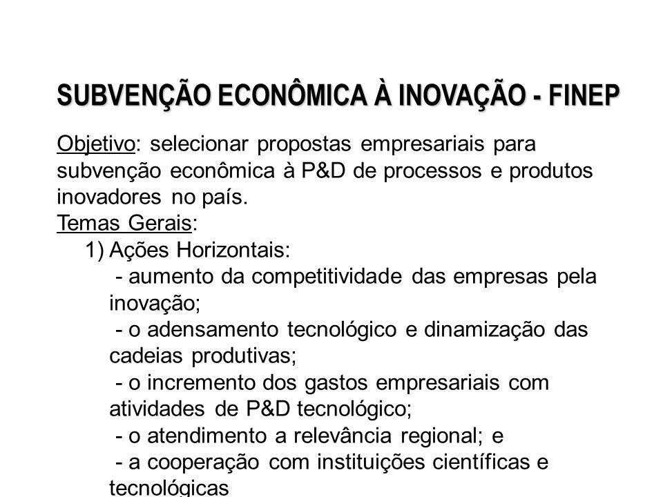 2) Opções estratégicas: semicondutores e software, fármacos e medicamentos e bens de capital 3) Atividades portadoras de futuro: biotecnologia, nanotecnologia e biomassa/energias alternativas.