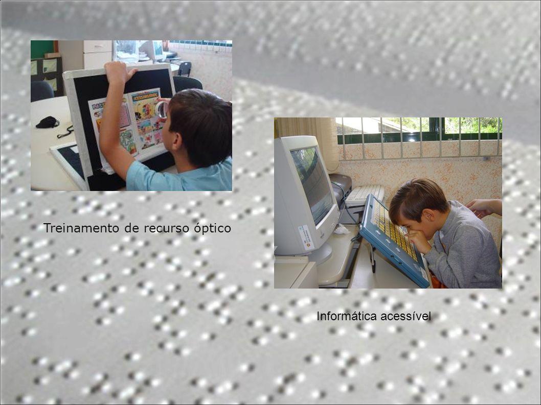 Treinamento de recurso óptico Informática acessível