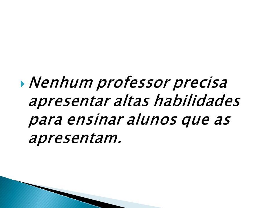 RECOMENDAÇÕES AOS PROFESSORES