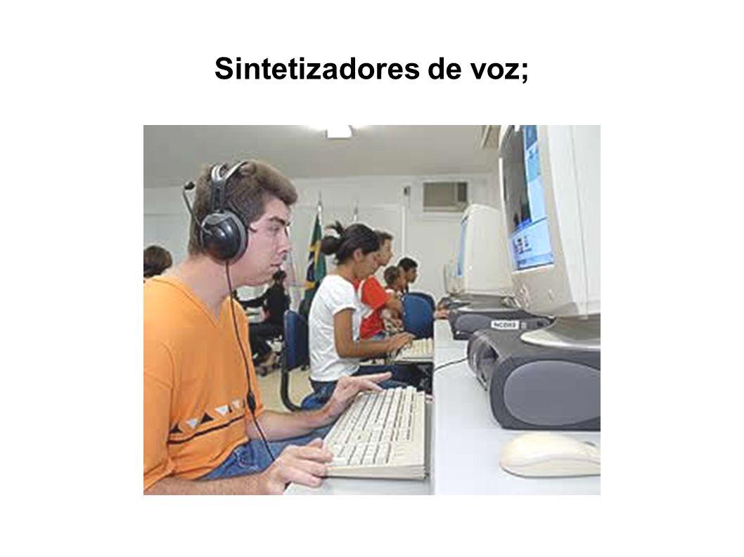 Sintetizadores de voz;
