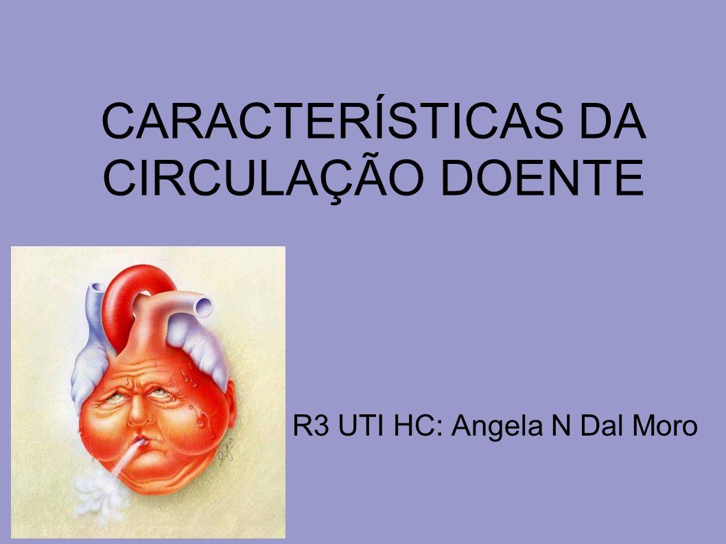 INSUFICIÊNCIA RESPIRATÓRIA AGUDA MECANISMOS DE DANO CIRCULATÓRIO NA SARA O DC aumenta na fase inicial (estresse).