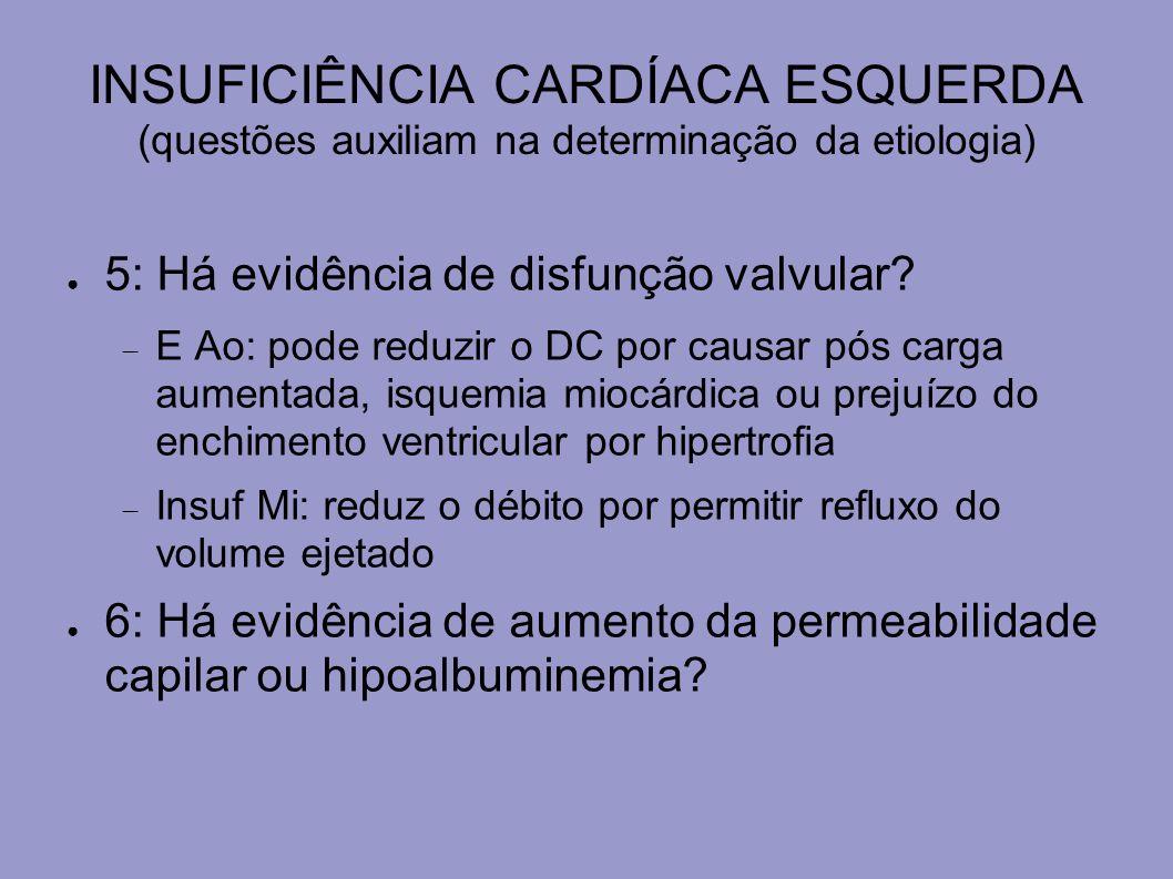 DISFUNÇÃO VENTRICULAR DIREITA (COR PULMONALE) MANEJO: objetivos Manter enchimento e pressão de perfusão de VD adequados Reverter hipoxemia e acidose Estabelecer ritmo cardíaco coordenado Tratar doença de base Se DPOC – usar O2.