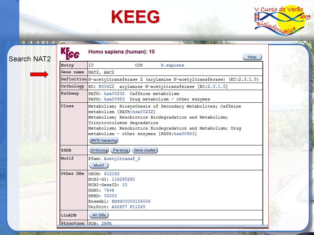 KEEG Search NAT2