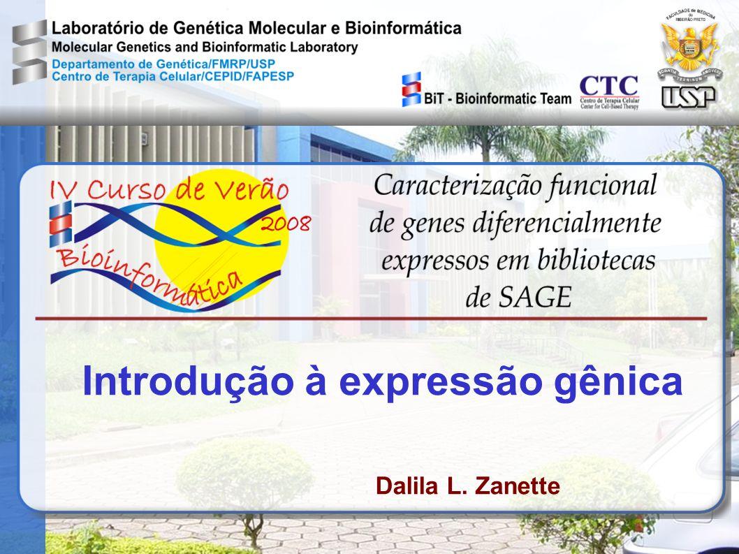 Introdução à expressão gênica Dalila L. Zanette