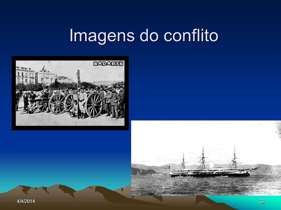 4/4/201432 Imagens do conflito