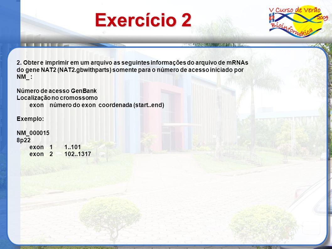 Exercício 2 2.
