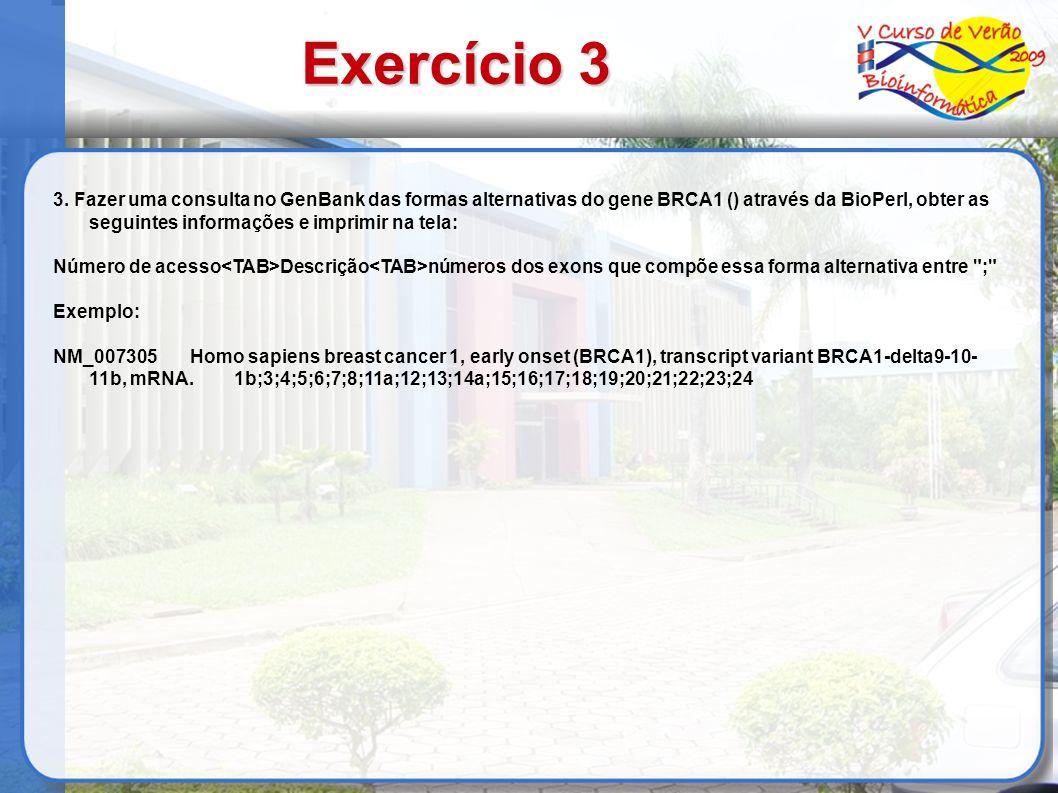 Exercício 3 3.