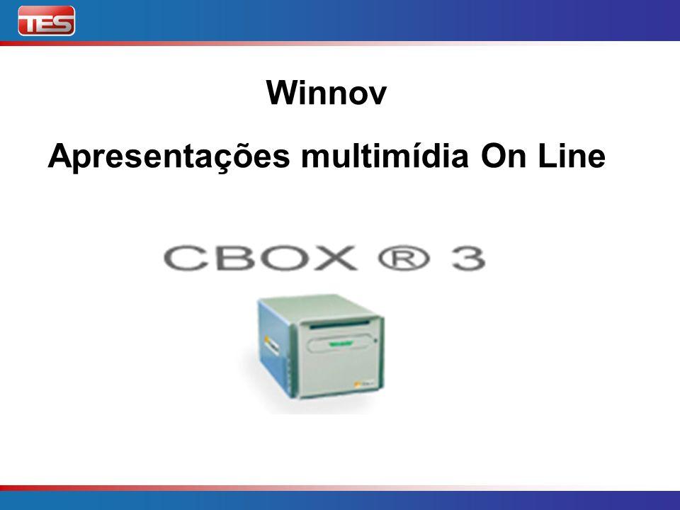 CBOX3 Sistema Integrado e pré-configurado Entradas: microfone, câmera, VCR/DVD, câmera documento, video-conferência, VGA.