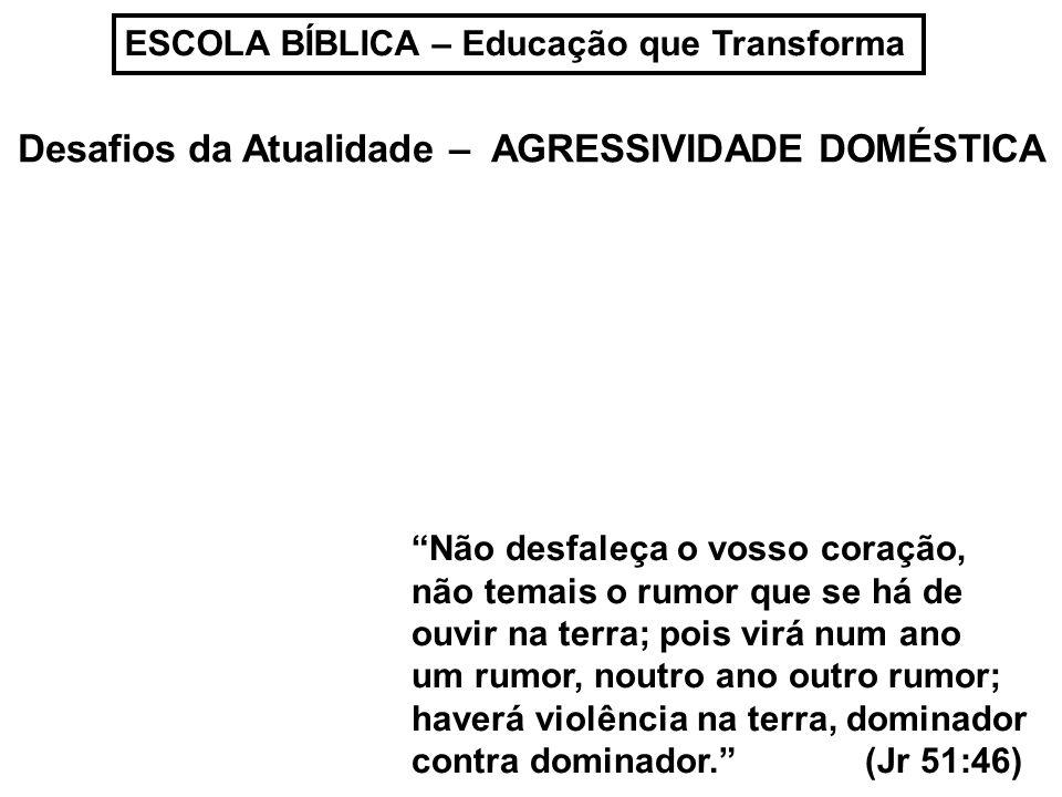 ESCOLA BÍBLICA – Educação que Transforma Notícia da Babá que foi FILMADA maltratando o bebê do qua deveria CUIDAR...