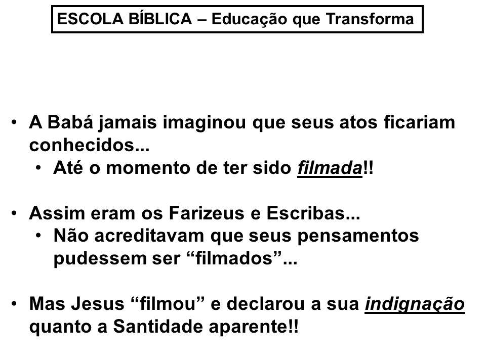 ESCOLA BÍBLICA – Educação que Transforma Jesus NÃO DISSE que era errado: Ser dizimista...