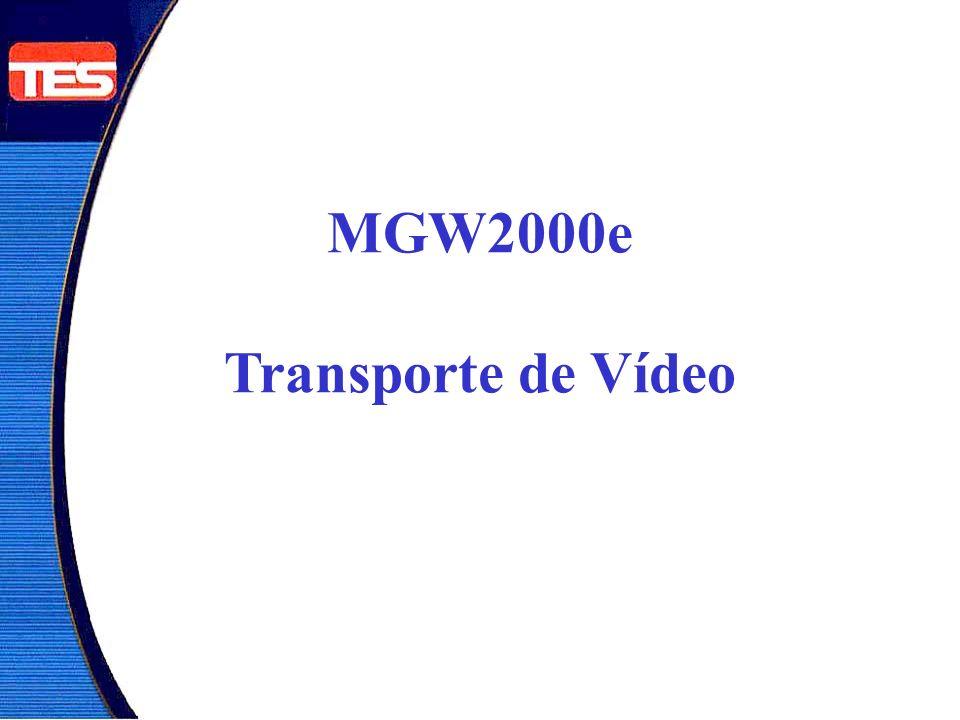 São Paulo Belo Horizonte Rio de Janeiro Curitiba Transporte de Vídeo: - Codificação MPEG2 - 1 Único Transmitindo - 3 Recebem Simultâneo - Bidirecional - Sem Gravação