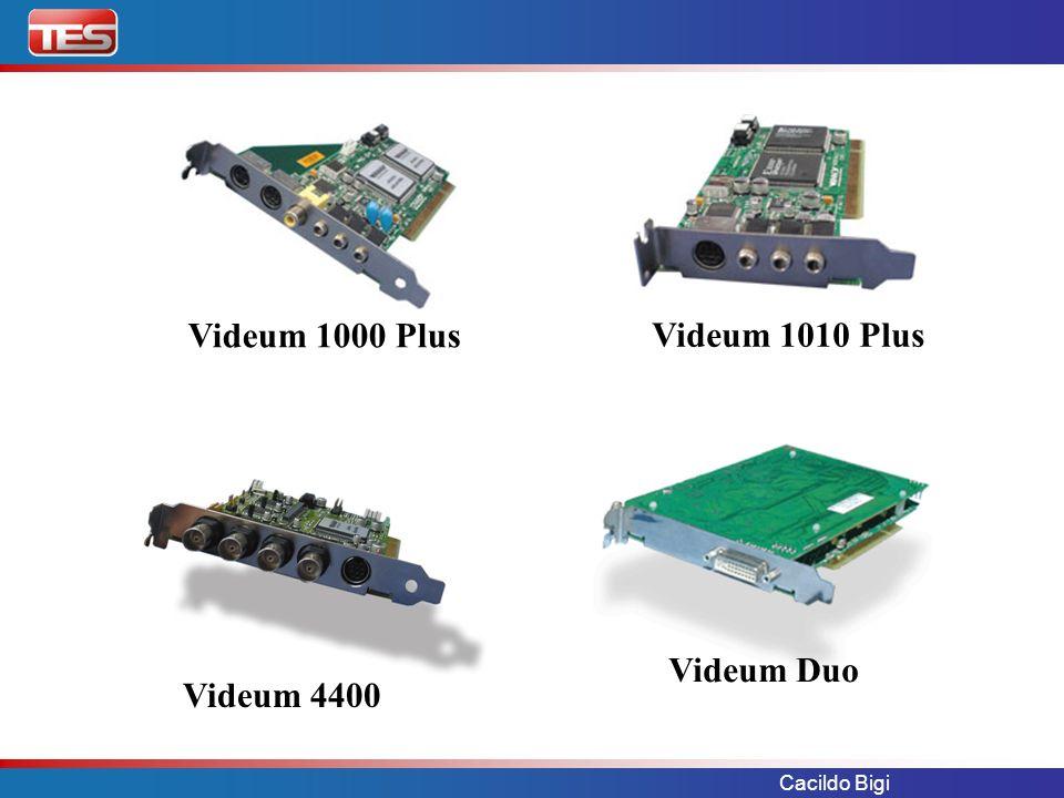 Cacildo Bigi Videum 1000 Plus Videum 1010 Plus Videum 4400 Videum Duo