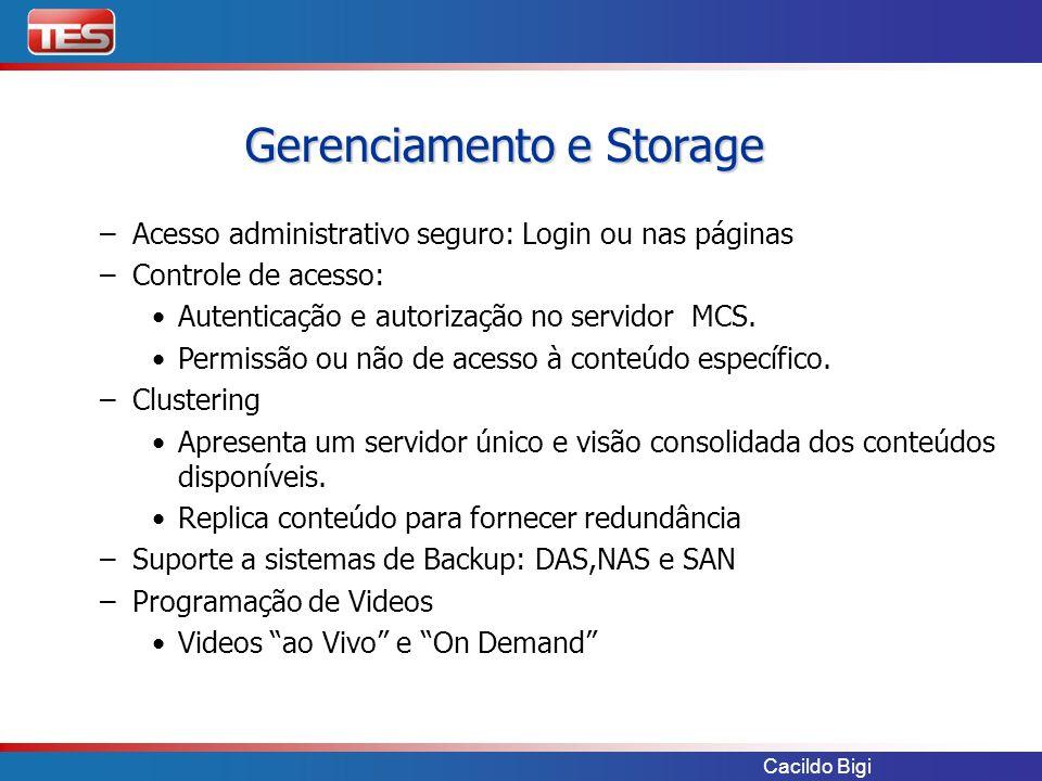 Cacildo Bigi – –Acesso administrativo seguro: Login ou nas páginas – –Controle de acesso: Autenticação e autorização no servidor MCS. Permissão ou não