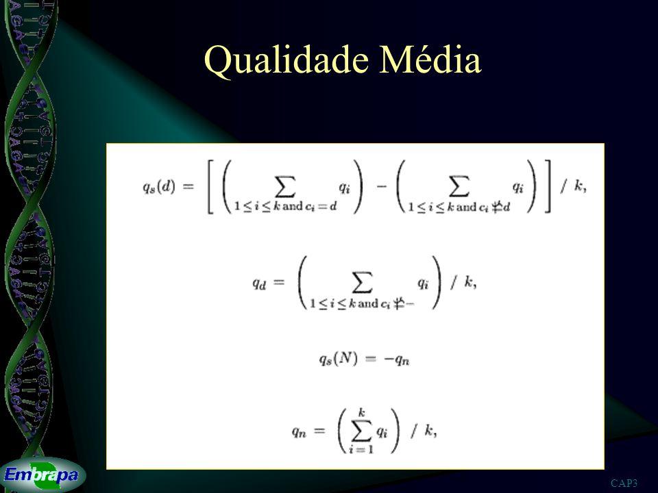 CAP3 Qualidade Média