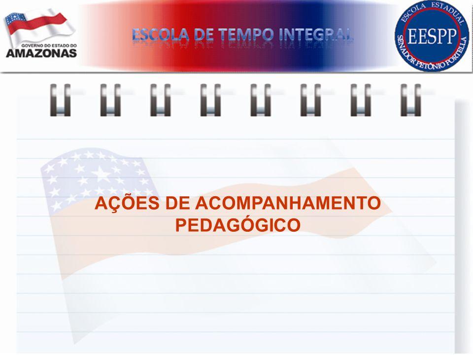 AÇÕES DE ACOMPANHAMENTO PEDAGÓGICO